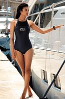 Купальник Self  для бассейна слитный с открытой спинкой
