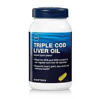 GNC TRIPLE COD LIVER OIL 90 softgels