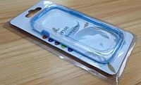 Голубой силиконовый бампер для Samsung Galaxy S3 i9300, фото 1