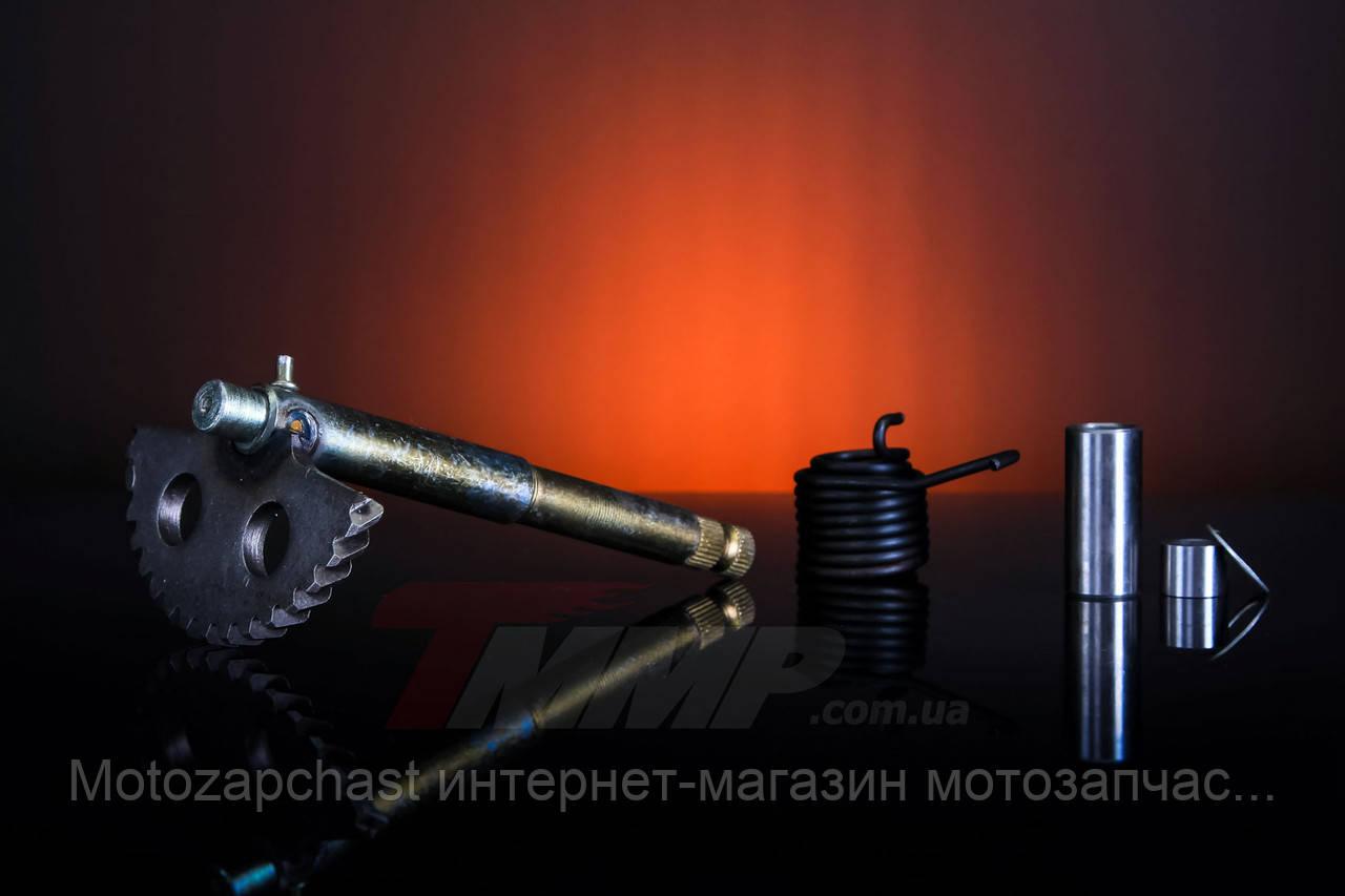 Сектор кикстартера GY6-125/150cc  L-150мм в сборе