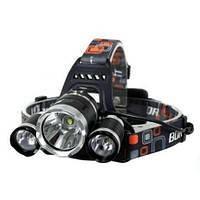 Светодиодный налобный фонарь Boruit с аккумуляторами и зарядным устройством