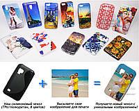 Печать на чехле для Samsung Galaxy S Wi-Fi 5.0 YP-G70 (Cиликон/TPU)