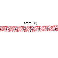 Трубка, Кринолин, Нейлон, Арбузно-красный 4 мм, для Ожерелья/Браслета