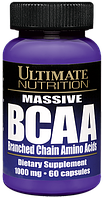 Ultimate Nutrition Massive BCAA 1000 mg 60 капс.
