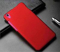 Пластиковый бордовый чехол с анти-скользящим покрытием для Lenovo S850, фото 1