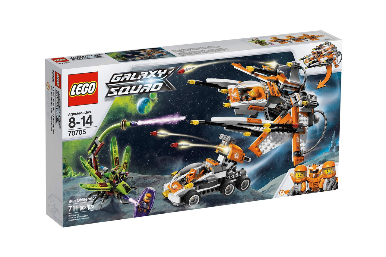LEGO 70705 Galaxy - Мисливці за інсектоїдами (Конструктор Лего Охотники на инсектоидов)