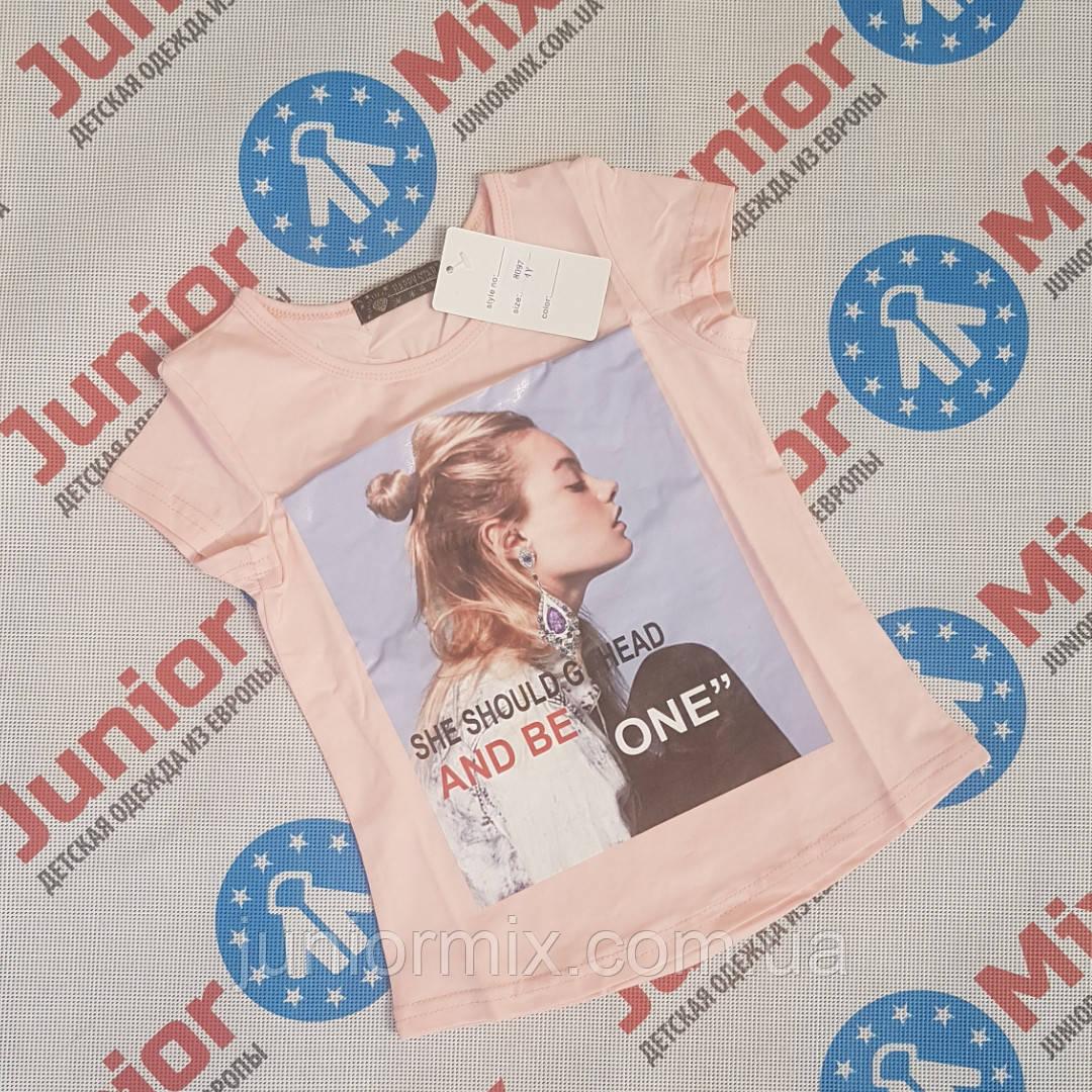 Дитячі літні футболки для дівчаток ввом HAPPY STAR