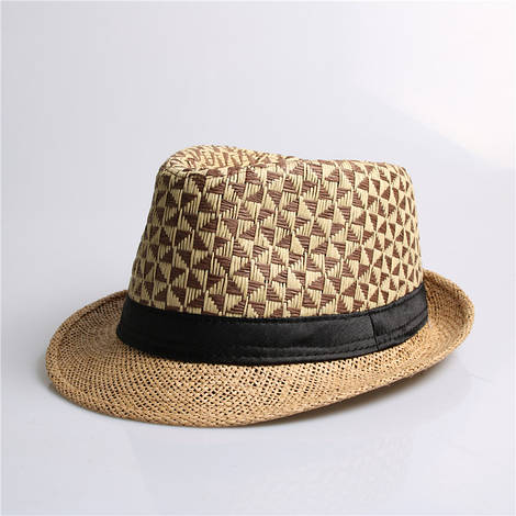 Женская пляжная шляпа с принтом