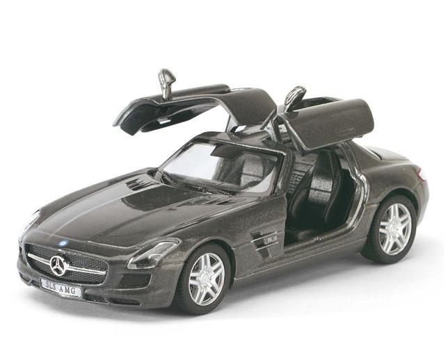 Инерционная машинка Kinsmart Mercedes-Benz 5349W