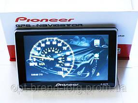"5"" GPS навигатор Pioneer HD - 4Gb+FMT"