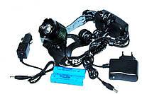 Мощный и надежный налобный фонарь BL 2188 для охоты и рыбалки