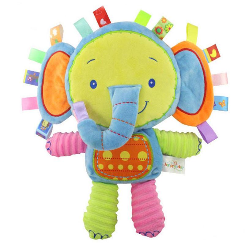 Мягкая игрушка - погремушка Слоненок
