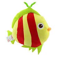 Мягкая подвеска - погремушка Рыбка Happy Monkey, фото 4