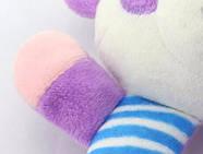 Мягкая игрушка - погремушка Панда Happy Monkey, фото 5