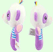 Мягкая игрушка - погремушка Панда Happy Monkey, фото 7