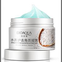 Гель-эксфолиант для лица BioAqua с рисовым экстрактом и фруктовыми кислотами 140 г