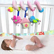 Мягкая подвеска Гусеница Happy Monkey, фото 2