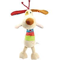 Мягкая музыкальная подвеска Пёс Happy Monkey, фото 1