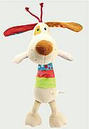 Мягкая музыкальная подвеска Пёс Happy Monkey, фото 5