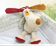 Мягкая музыкальная подвеска Пёс Happy Monkey, фото 6
