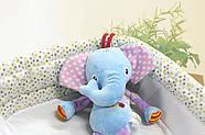 Мягкая музыкальная подвеска Слон Happy Monkey, фото 6