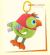 Мягкая музыкальная подвеска Попугай Happy Monkey, фото 4