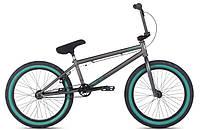 "Велосипед 20"" STOLEN Score 2 2014 Matte Raw Silver w/Green"
