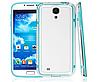 Голубой силиконовый бампер для Samsung Galaxy S4 i9500