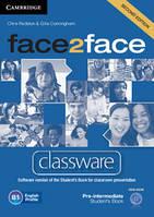 Face2Face Second Editon Pre-Intermediate Classware DVD-ROM