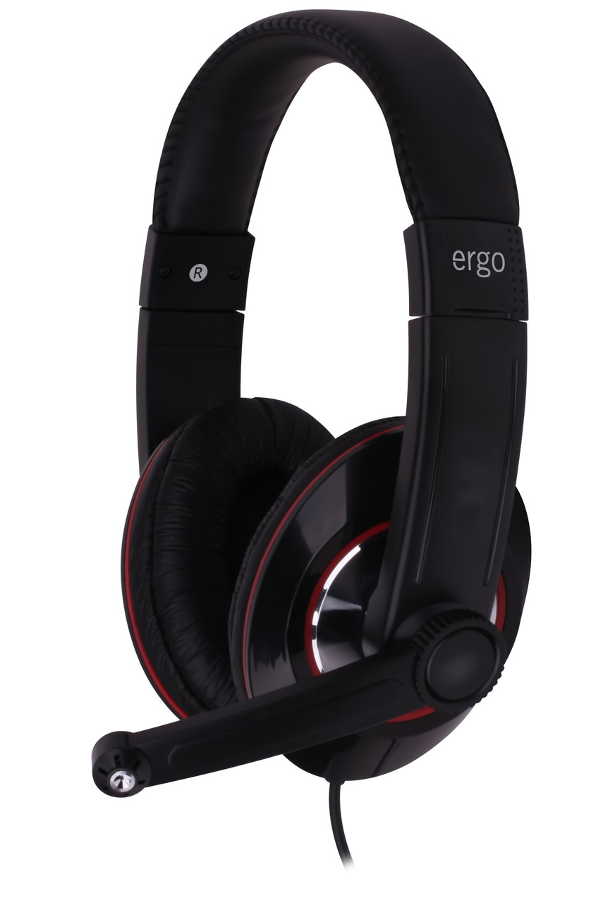 Компьютерная гарнитура ERGO VM-290 чёрная