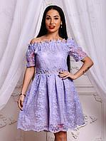 Очень красивое и нарядное женское платье из органзы