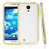 Желтый силиконовый бампер для Samsung Galaxy S4 i9500