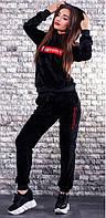 Женский велюровый спортивный костюм  никн662, фото 1