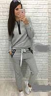 Спортивный костюм женский двунитка  руд168, фото 1