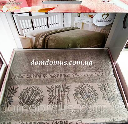 Махровая простыньTW DOLPHINS 200*220 см (бамбук) Турция 0217