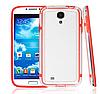 Красный силиконовый бампер для Samsung Galaxy S4 i9500