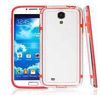 Красный силиконовый бампер для Samsung Galaxy S4 i9500, фото 1