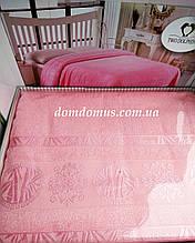 Махровая простыньTW DOLPHINS 200*220 см (бамбук) Турция 0219