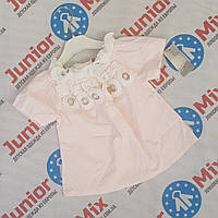 Детские летние блузки для девочек 100% хебешка оптом , фото 1