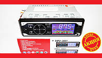 Автомагнитола Pioneer 3881 ISO - MP3 Player, FM, USB, SD, AUX сенсорная магнитола