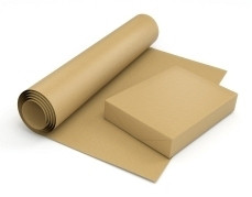 Крафт бумага в листах 420 x 594, порезка под заказ