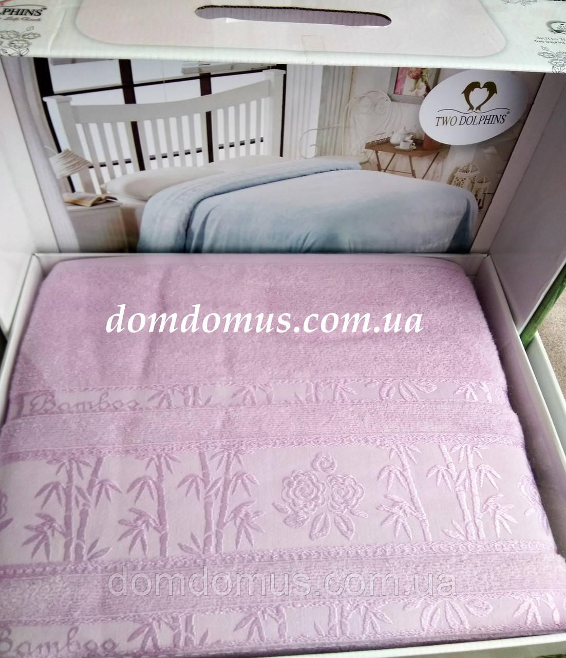 Махровая простыньTW DOLPHINS 200*220 см (бамбук) Турция 0221