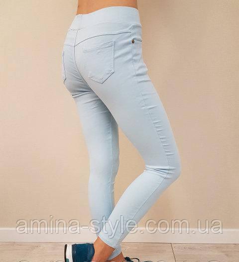Женские классические брюки стрейч, M/L (44-48)
