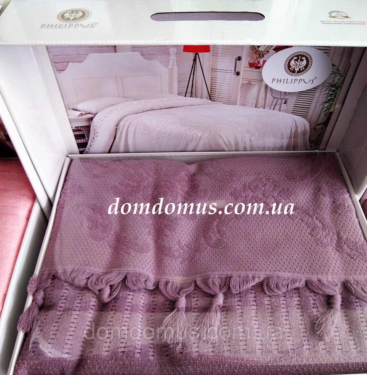 Махровая простыньTW DOLPHINS 200*220 см (хлопок) Турция 0223