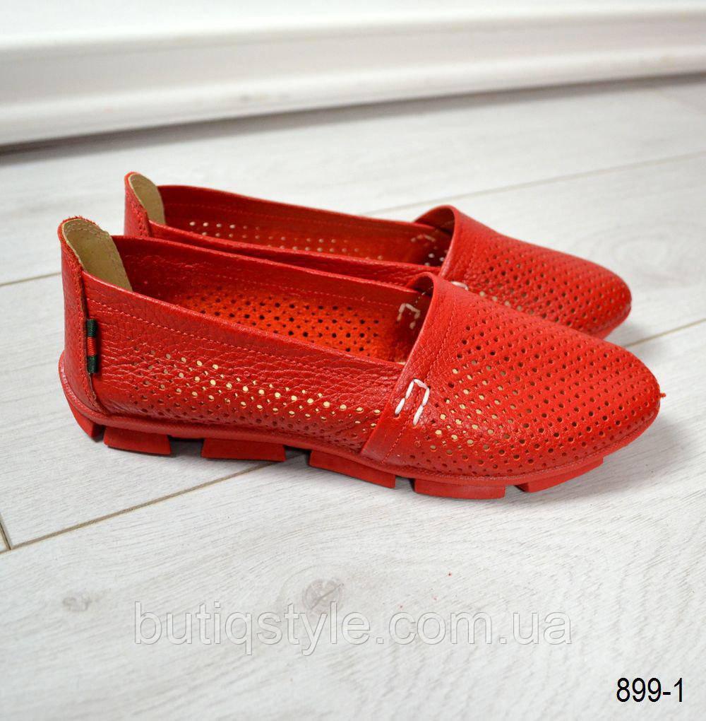 37,40,41 размер Женские красные эспадрильи Comfort натур.кожа