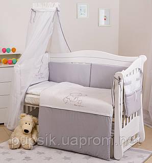 Постельный комплект для новорожденного Twins Dolce Loving Bear D-008 (8 предметов)