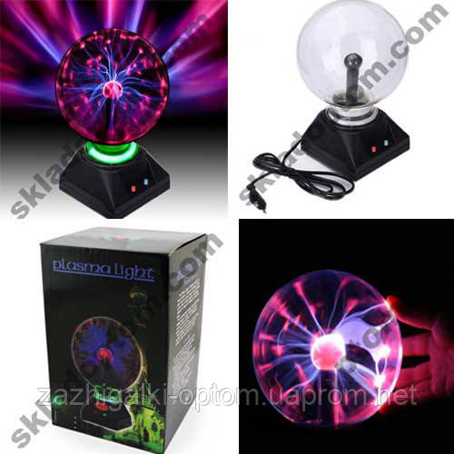 Плазменный Шар Plasma ball XL