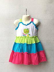 Детское платье для девочки (3 - 7 лет) купить оптом от производителя