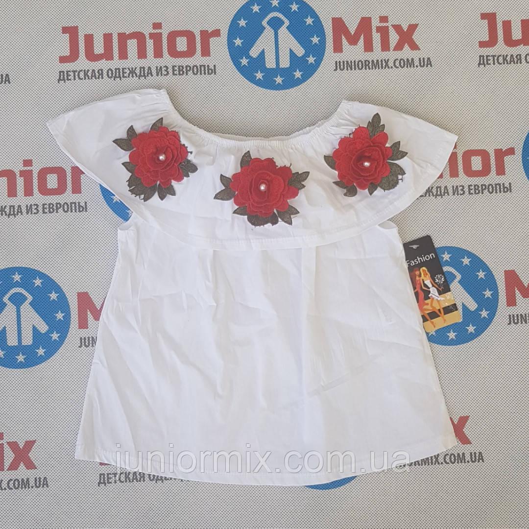 Летние блузки для девочек оптом Fashion