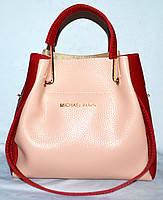 92a5c6995e9f Женская сумка с косметичкой элитная Michael Kors с металлическими ручками  28 26